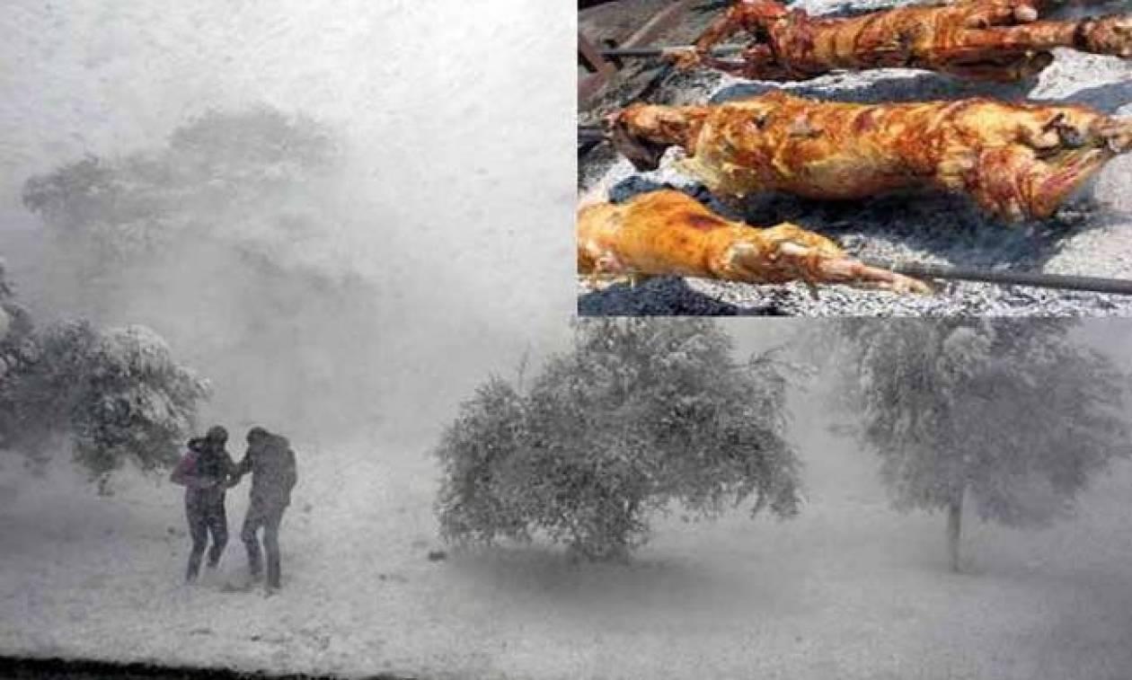 Καιρός: «Τρομοκρατούν» με το πιο ψυχρό Πάσχα των τελευταίων 10 ετών (pics)
