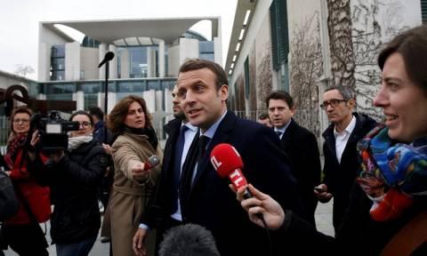 Γαλλία: Σημεία σύγκλισης με την Μέρκελ «βλέπει» ο Μακρόν