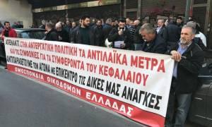 В Греции бастуют работники строительной сферы