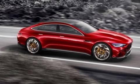 H Mercedes- AMG GT Concept είναι σούπερ σπορ με 816 ίππους και θέσεις για τέσσερις