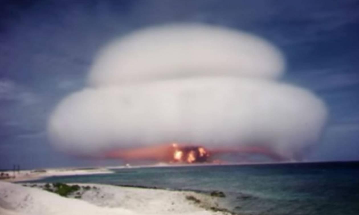 Σοκ: Σπάνια ντοκουμέντα με μυστικές δοκιμές πυρηνικών βομβών από τις ΗΠΑ (vids)