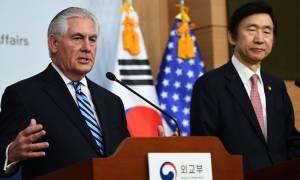 Οι ΗΠΑ δεν αποκλείουν τη στρατιωτική επέμβαση στη Βόρεια Κορέα