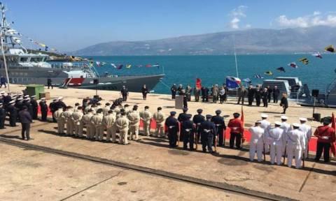 Πολεμικό πλοίο της Αλβανίας κάνει περιπολίες στο Αιγαίο