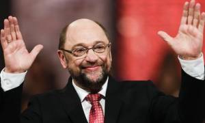 Τα… πήρε όλα κι έφυγε: Ο Σουλτς εξελέγη πρόεδρος του SPD με ποσοστό 100%