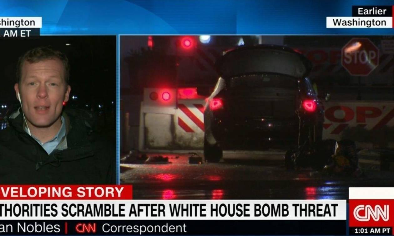 «Έχω βόμβα στο αμάξι» είπε στους φρουρούς του Λευκού Οίκου κι «έσπειρε» τον πανικό (Vid)