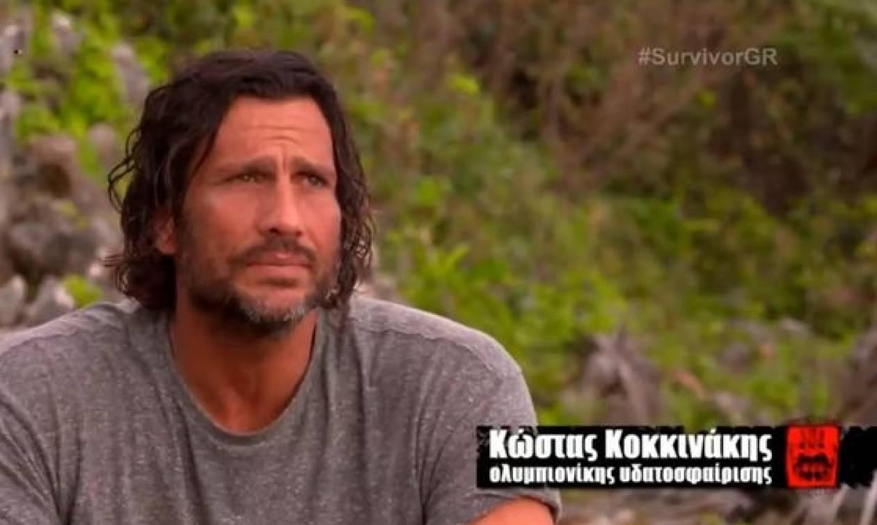 Survivor: Το σοκαριστικό πλάνο του Κώστα Κοκκινάκη που δεν πρόσεξε κανείς! (pic)