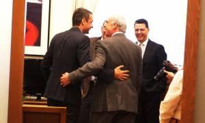 Τι είπαν Μητσοτάκης - Μεϊμαράκης στη συνάντησή τους (pics)