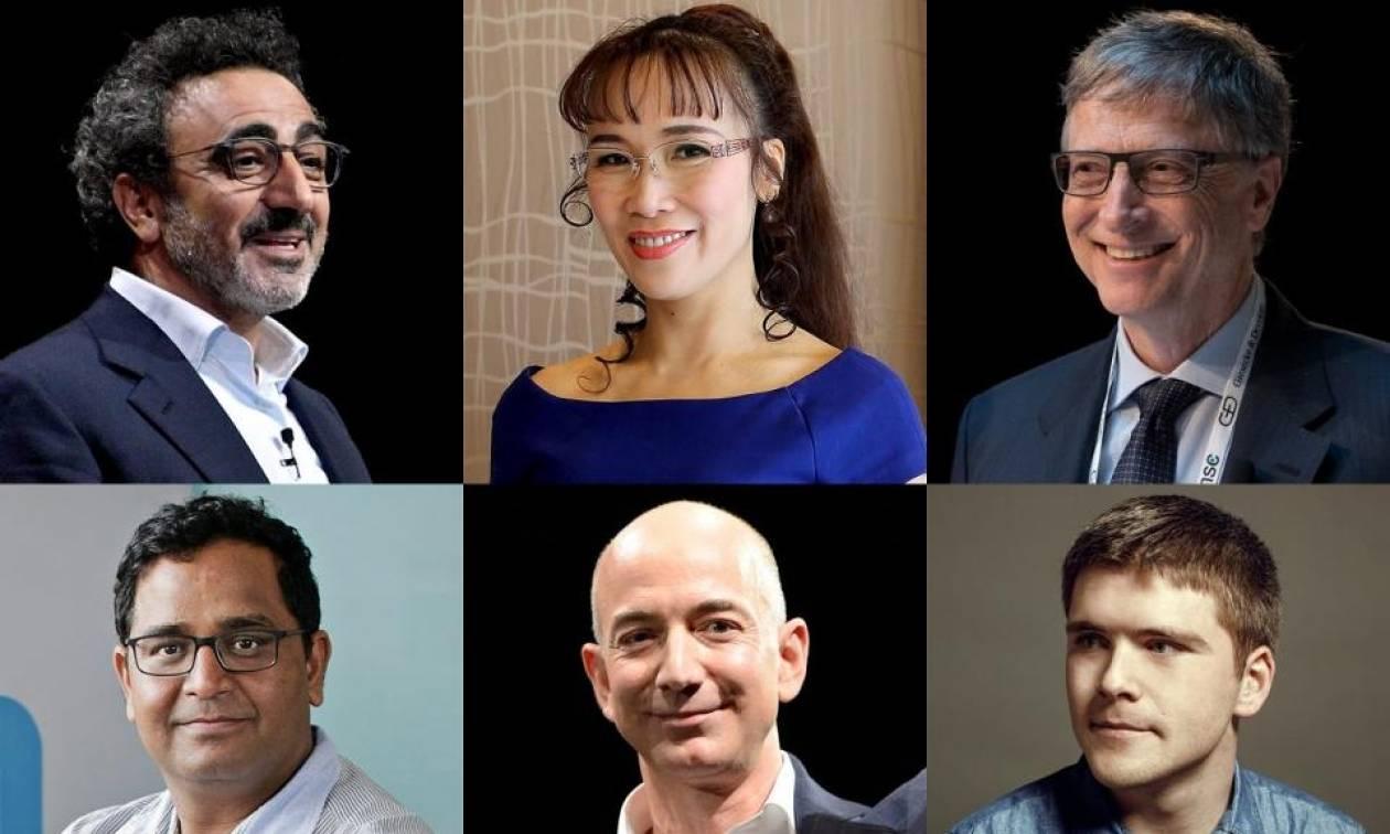 Λίστα του Forbes: Αυτοί είναι οι πλουσιότεροι άνθρωποι στον πλανήτη - Οι τρεις Έλληνες