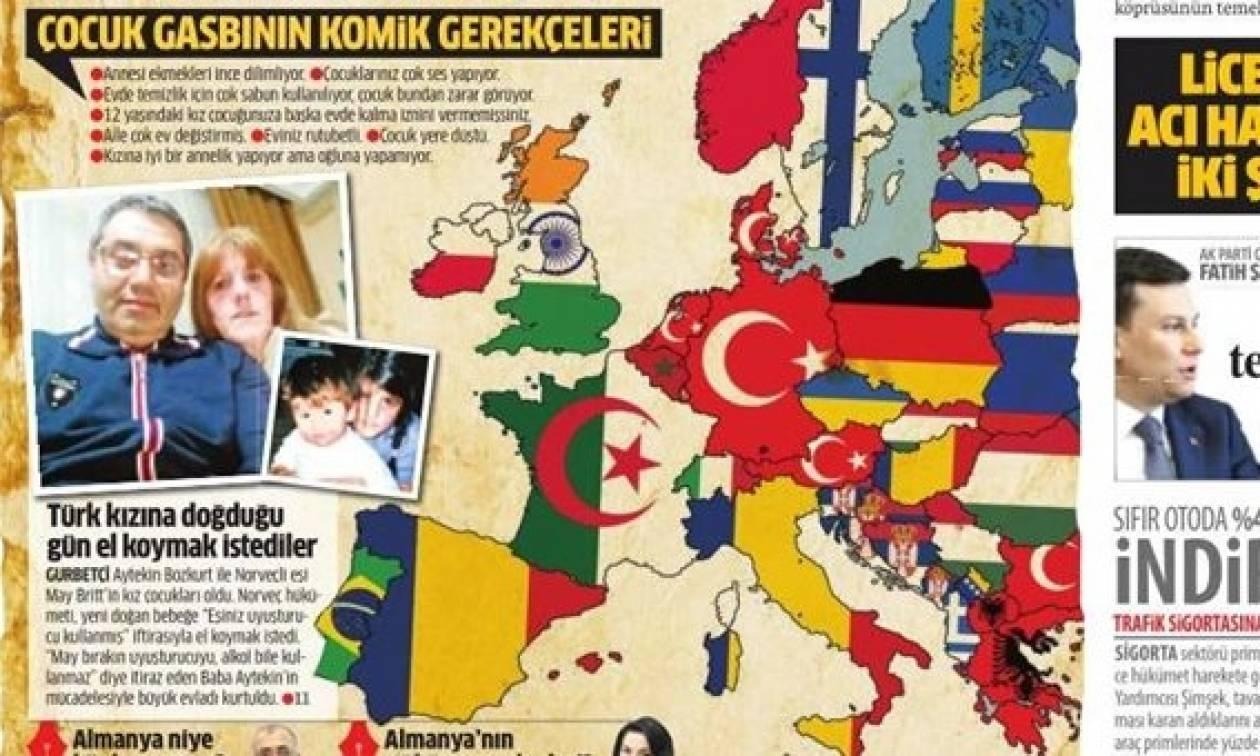 Προκαλούν ξανά οι Τούρκοι: Η Ελλάδα μέχρι το 2050 θα είναι αλβανική και η Ευρώπη μουσουλμανική