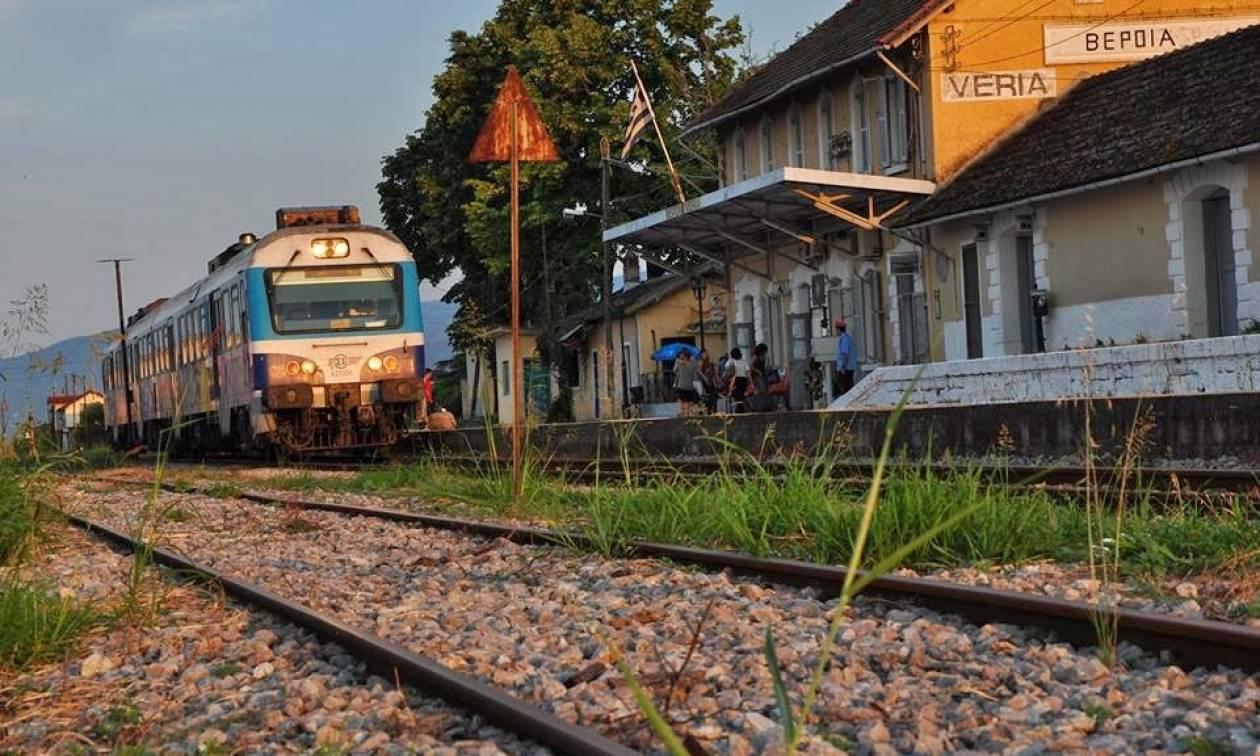 Κινηματογραφική ληστεία σε σιδηροδρομικό σταθμό της Βέροιας
