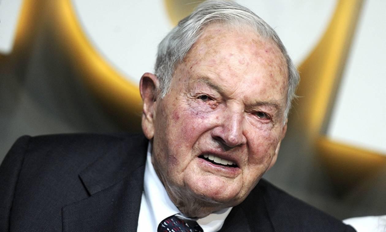 Πέθανε ο Αμερικανός κροίσος Ντέιβιντ Ροκφέλερ