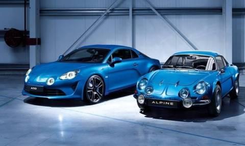 H νέα Renault Alpine A110 μοιάζει πολύ με τη διάσημη πρόγονό της