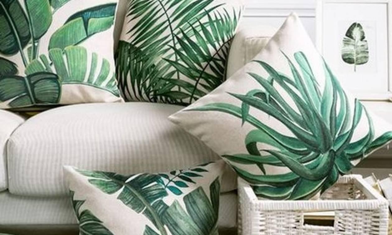 Το tropical θα «φορεθεί» φέτος πολύ στο σπίτι σου