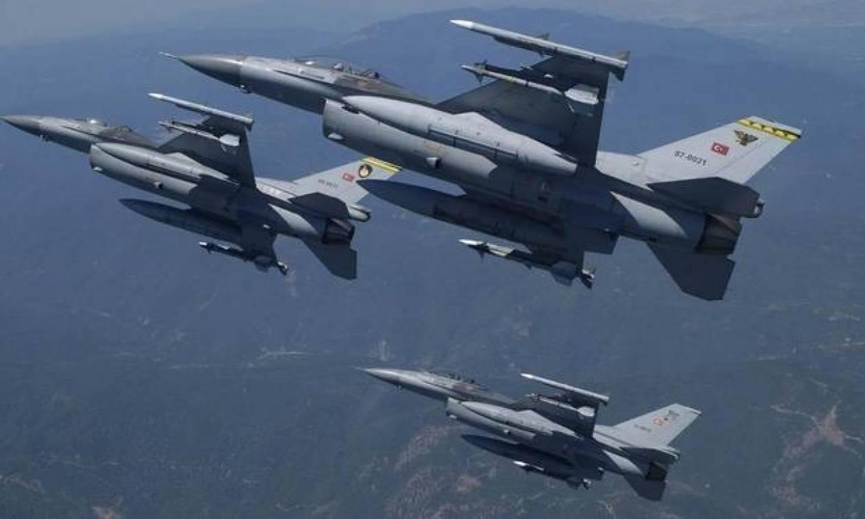 «Φωτιά» στο Αιγαίο: Νέο μπαράζ παραβιάσεων με εικονική αερομαχία