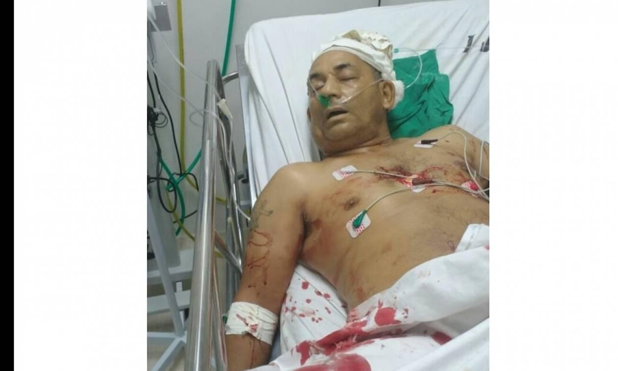 Βίντεο σοκ: Τον δολοφόνησαν μέσα στο νοσοκομείο όπου ανάρρωνε από προηγούμενη επίθεση
