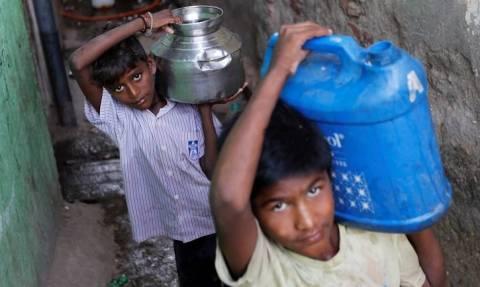 600 εκ. παιδιά «μακριά» από νερό έως το 2040