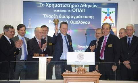 Πρεμιέρα στο Χρηματιστήριο Αθηνών για το εταιρικό ομόλογο του ΟΠΑΠ