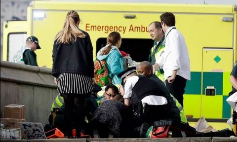 Επίθεση στο Λονδίνο: Αυξήθηκε ο αριθμός των νεκρών της τρομοκρατικής επίθεσης