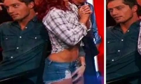 Χαμός στο Dancing With The Stars: Χάιδεψε τον κόλπο καυτής χορεύτριας και δείτε τι ακολούθησε (vid)