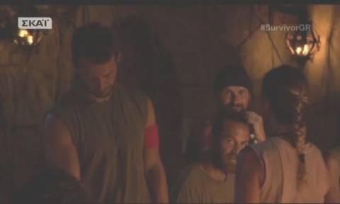 Survivor: Δείτε πως αποχαιρέτησε η Σόφη Πασχάλη τον Γιώργο Αγγελόπουλο