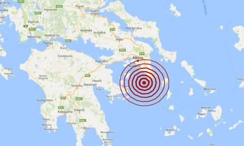 Σεισμός νότια της Αθήνας (pics)