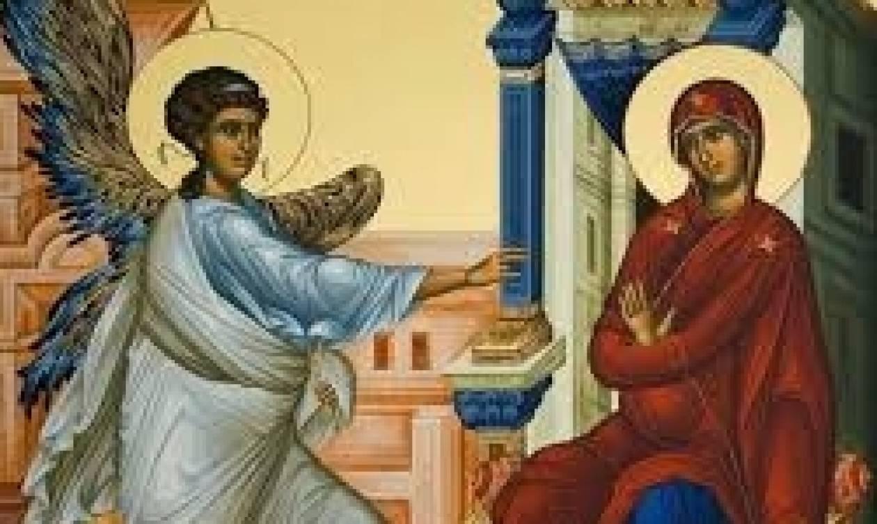 25η Μαρτίου: Γιατί ο Ευαγγελισμός της Θεοτόκου εορτάζεται σήμερα;