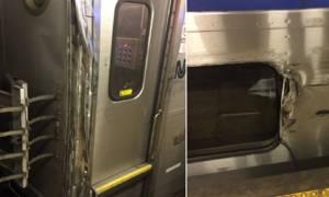 Εκτροχιασμός τρένου στη Νέα Υόρκη - Τουλάχιστον τρεις τραυματίες (pics+vids)
