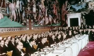 Συνθήκη της Ρώμης: Συγκλονιστική αποκάλυψη για το πώς γεννήθηκε η Ευρωπαϊκή Ένωση σαν σήμερα