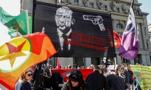 Οργή στην Τουρκία για την διαδήλωση στη Βέρνη κατά του Ερντογάν