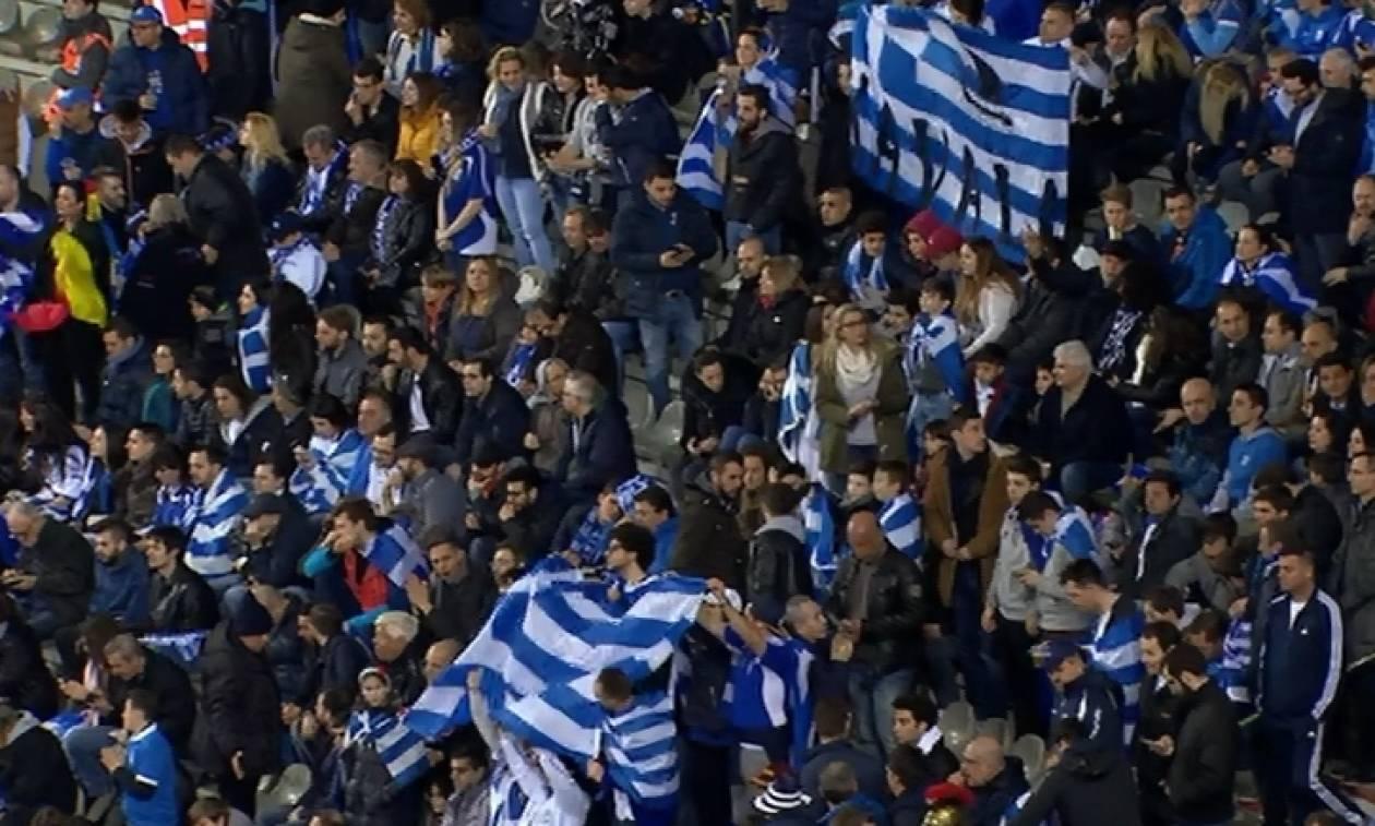Βέλγιο - Εθνική Ελλάδος: Άνοιξε το σκορ με γαλανόλευκο προβάδισμα