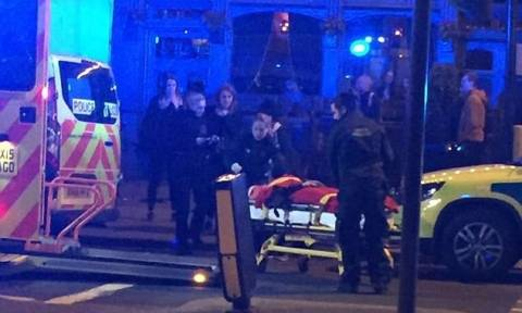 Panic in Islington as two knifemen in a car mow down three people outside a pub