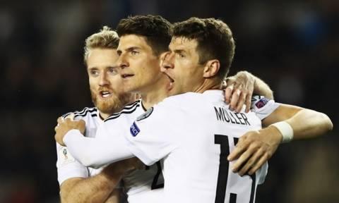 Άνετες νίκες για Γερμανία και Τσεχία