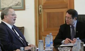 Κυπριακό: Συνάντηση Αναστασιάδη - Κοτζιά στη Λευκωσία