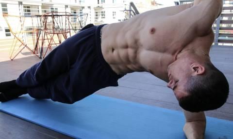 Πέντε ασκήσεις για κοιλιακούς «φέτες»