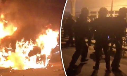 Paris clashes after French police kill Chinese man