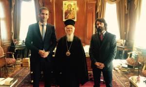 Στον Οικουμενικό Πατριάρχη Βαρθολομαίο ο Κώστας Μπακογιάννης
