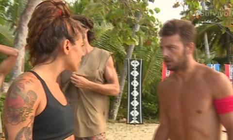 Survivor: Νέο επεισόδιο Ευρυδίκης –Ντάνου - Γιατί του «τα έχωσε»;