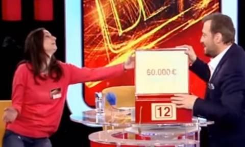 ΣΟΚ στο Deal: Είχε στο κουτί της 60.000 ευρώ, αλλά δεν υπάρχει αυτό που συνέβη (vid)