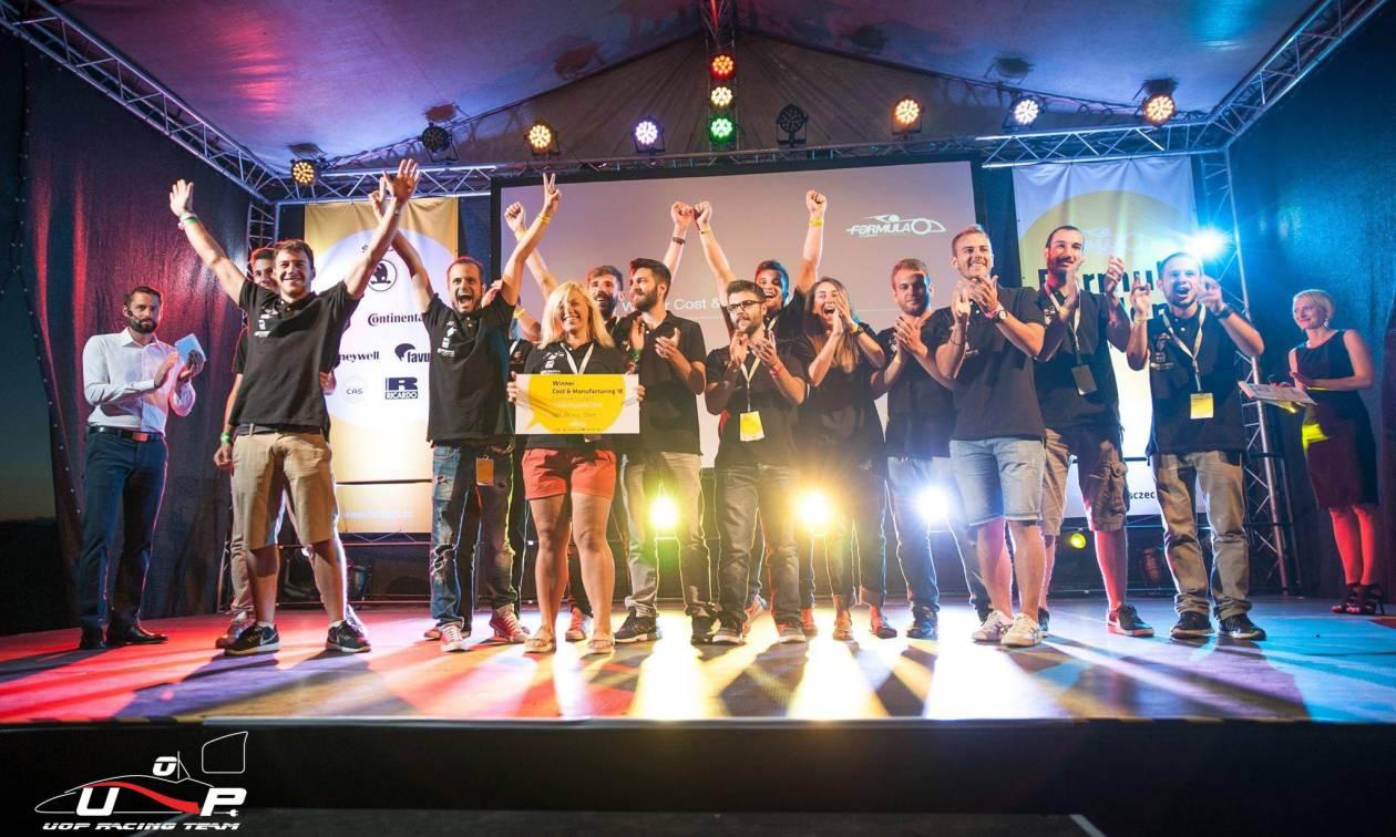 Η Βοsch Eλλάδας και η «UoP Racing» βλέπουν το μέλλον της αυτοκίνησης ηλεκτρικό