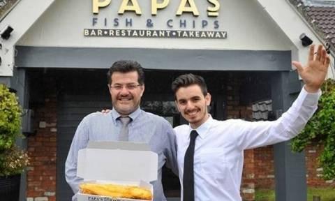 Κύπριος ο ιδιοκτήτης του καλύτερου εστιατορίου της Αγγλίας (photo)