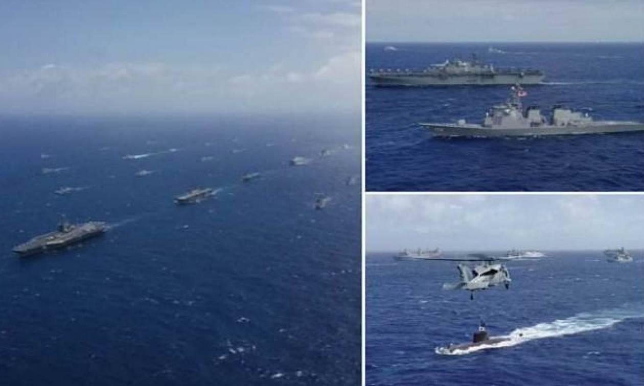 Ο χειρότερος εφιάλτης της Κίνας: Ο τεράστιος ναυτικός στόλος των ΗΠΑ στον Ειρηνικό