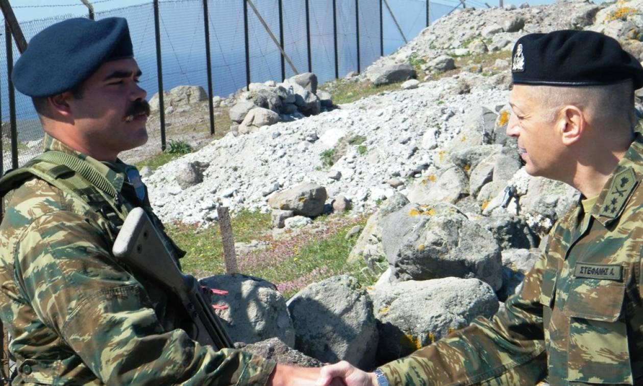 Απάντηση στην Τουρκία η επίσκεψη Αρχηγού ΓΕΣ στο Ανατολικό Αιγαίο (pics)