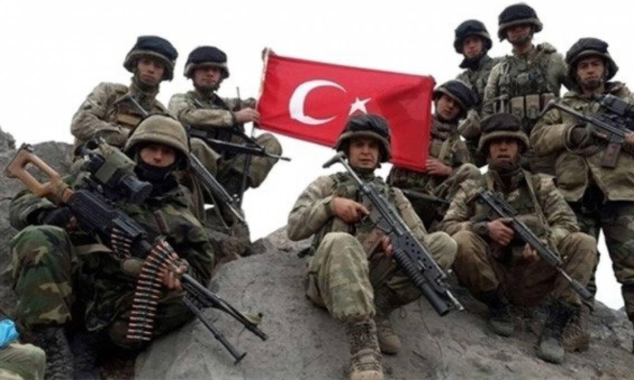 Oι τουρκικές δυνάμεις στην Β. Συρία και μετά τον τερματισμό της επιχείρησης «Ασπίδα του Ευφράτη»