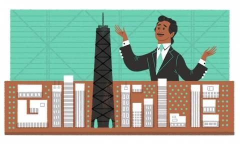 Fazlur Rahman Khan: Ποιος είναι ο άνθρωπος που τιμά σήμερα η Google με Doodle;