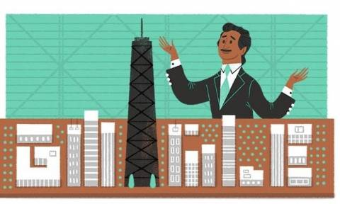 Fazlur Rahman Khan: H Google τιμά τον «Αϊνστάιν» της αρχιτεκτονικής