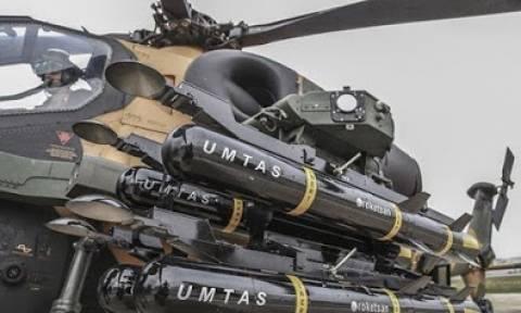 Τα τουρκικά ελικόπτερα θα είναι εξοπλισμένα με νέους πυραύλους στόχευσης με Laser