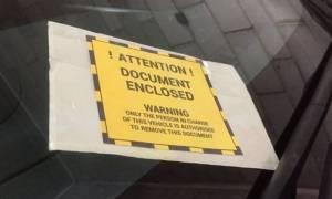 Πήγαινε γυρεύοντας: Βρετανίδα καλείται να πληρώσει 24.500 λίρες για παράνομο παρκάρισμα
