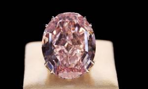 Ιστορική πώληση και ποσό ρεκόρ για το διαμάντι «Pink Star»