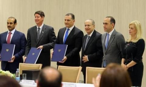 Φυσικό αέριο: Υπογράφηκε το συμβόλαιο για το τεμάχιο 10 με ExxonMobil και Qatar Petroleum