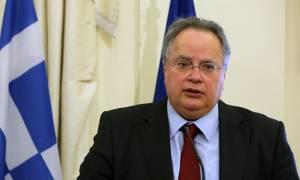 Συνάντηση Κοτζιά - Τζόνσον στο υπουργείο Εξωτερικών